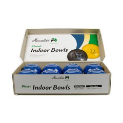 "Henselite Indoor Carpet Bowls - 4"" Blue Only"