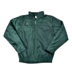 Henselite Rainwear Jacket - Lined Elastic Bottle Green