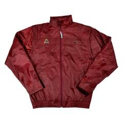 Henselite Rainwear Jacket - Lined Elastic Burgundy