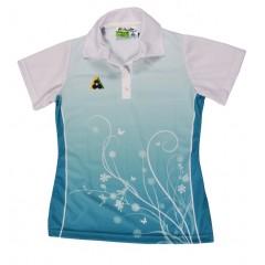 Henselite Ladies Spring Polo - Turquoise
