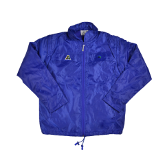 Henselite Rainwear: Jacket - Lined Drawstring Royal Blue