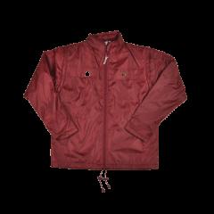Henselite Rainwear: Jacket - Lined Drawstring Burgundy