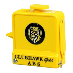 Club Hawk AFL Measure - Richmond Yellow