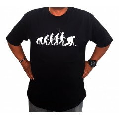 Hunter - The Evolution Of Ape To Bowler T-Shirt